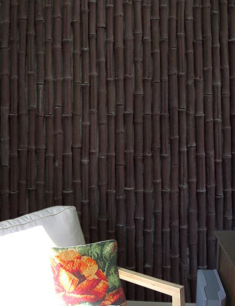 Bambú Decorativo Chocolate